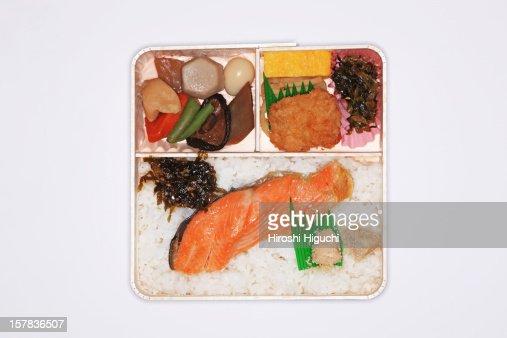 'BENTO' Japanese lunch box : Foto de stock