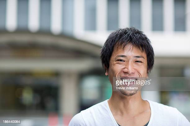 A Japanese man in his thirties