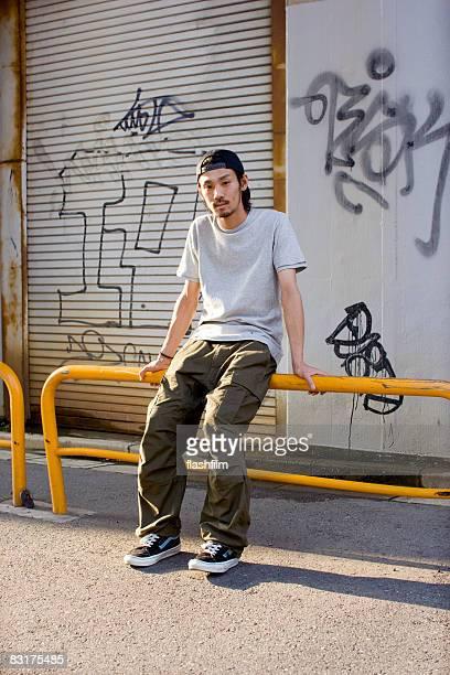 Japanese man on the street