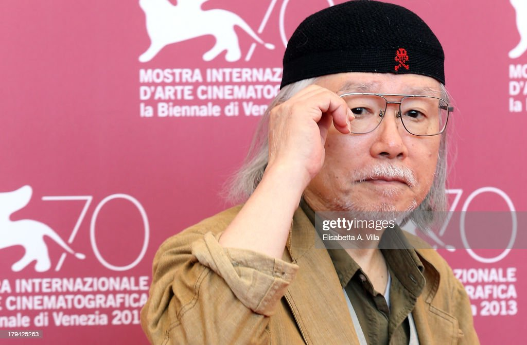 Japanese mangaka/author <a gi-track='captionPersonalityLinkClicked' href=/galleries/search?phrase=Leiji+Matsumoto&family=editorial&specificpeople=7857927 ng-click='$event.stopPropagation()'>Leiji Matsumoto</a> attends 'Harlock Space Pirate' Photocall at the 70th Venice International Film Festival at Palazzo del Casino on September 3, 2013 in Venice, Italy.