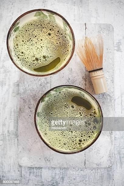 Japanese matcha tea