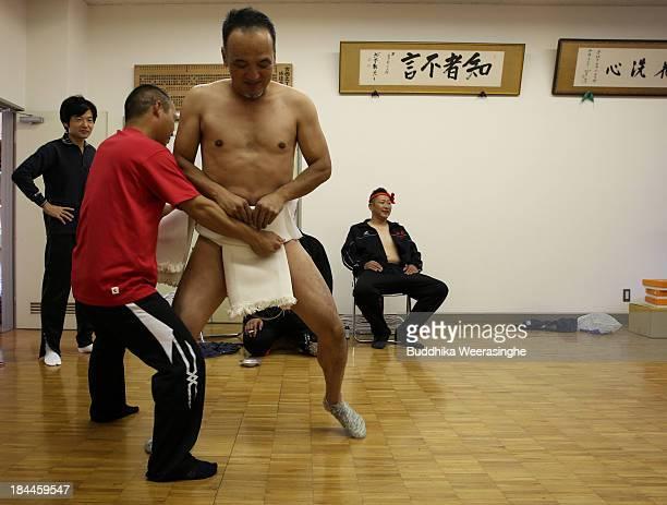 Sexy men in loincloths