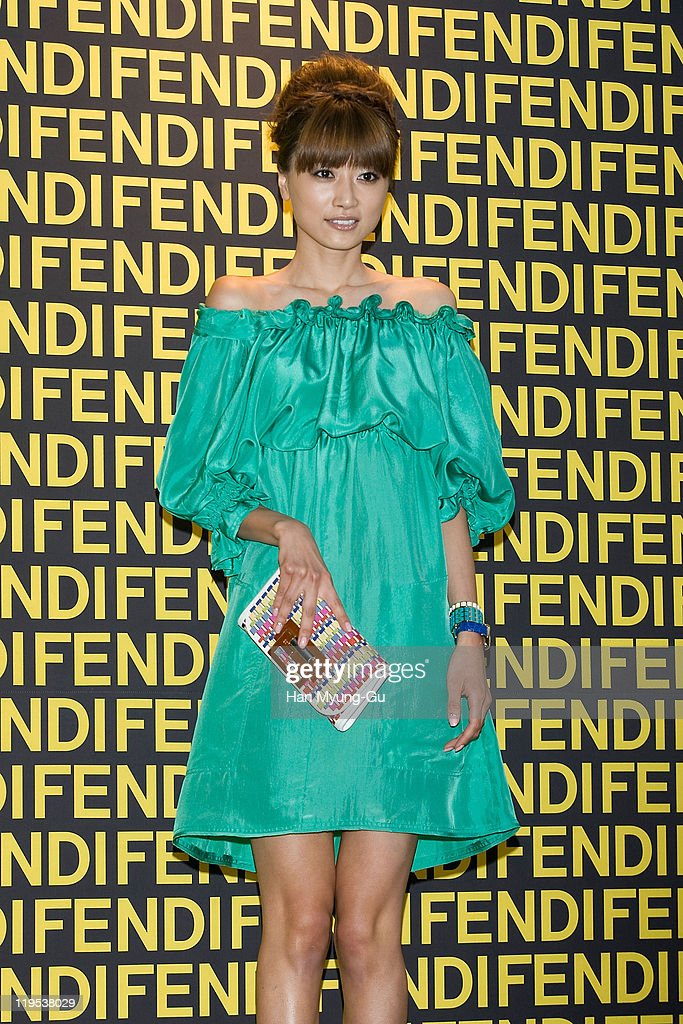 Japanese model Youn-A attends the Fendi Han River Fashion Show on June 2, 2011 in Seoul, South Korea.