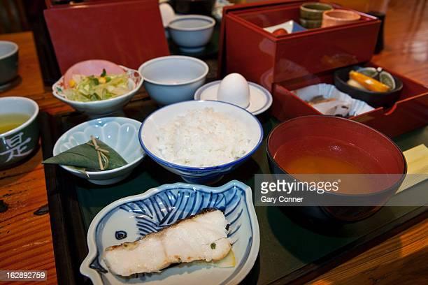 Japanese multi-course dinner