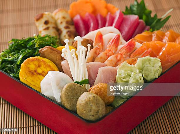 Japanese New Year bento box