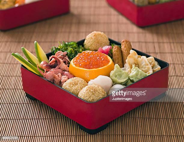 Japanese New Year bento box