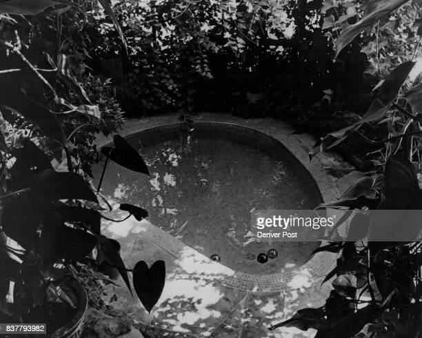 Japanese ofuro bath room and garden is treasure of Mr and Mrs E Britton 6427 S Hill Credit Denver Post
