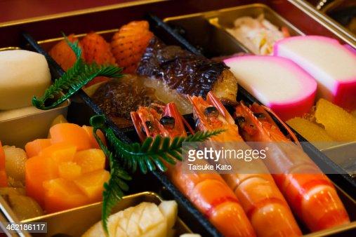 Japanese OSECHI : Stock Photo
