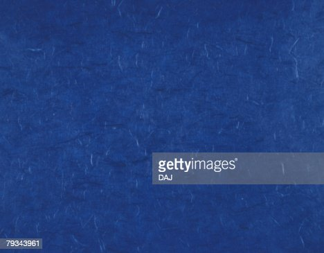 Japanese paper colored blue, close up : 스톡 사진