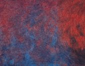 Japanese paper in red and blue marble pattern, close up
