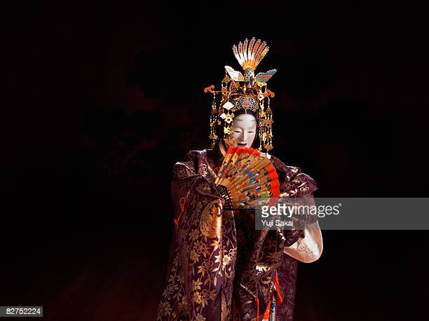 Japanese play,Noh,Image of 'Hagoromo'