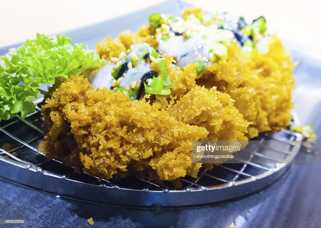 Japanese pork cutlet : Stock Photo