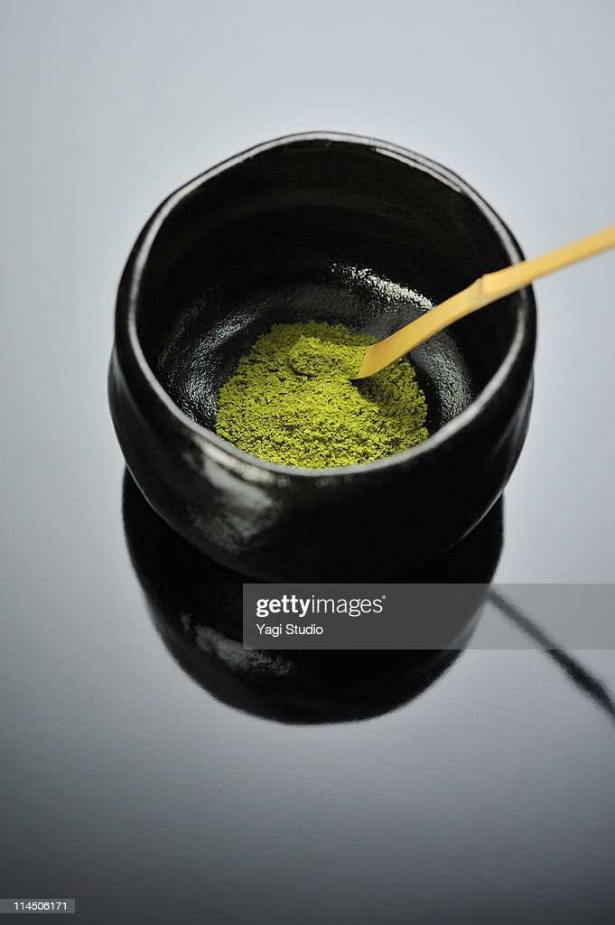 A Japanese powdered tea : Stock Photo