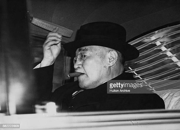 Japanese prime minister Shigeru Yoshida circa 1950