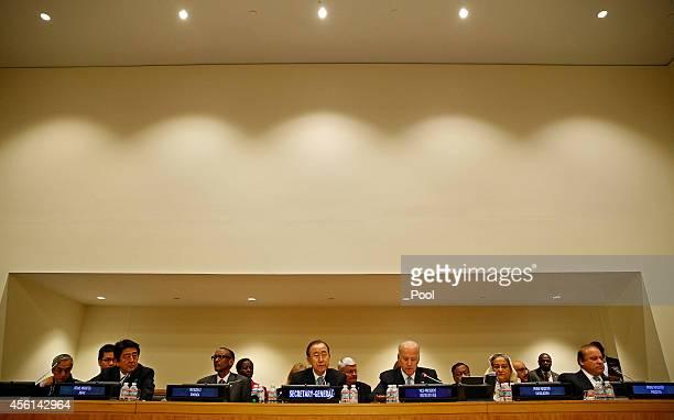 Japanese Prime Minister Shinzo Abe Rwandan President Paul Kagame UN SecretaryGeneral Ban Kimoon US Vice President Joe Biden Bangladesh Prime Minister...