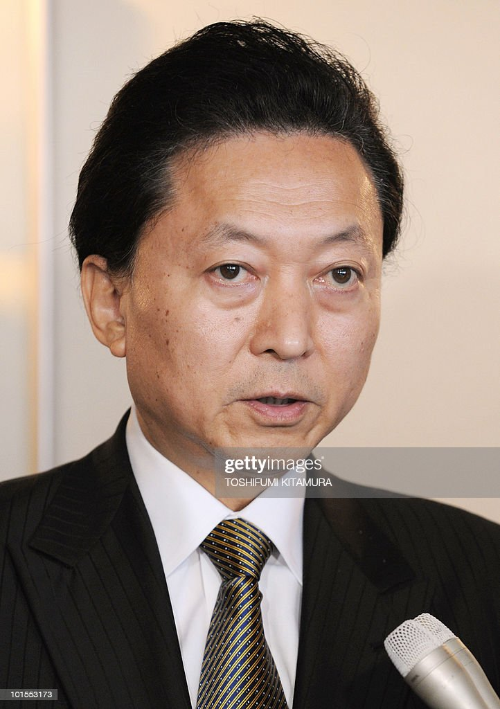 Japanese Prime Minister Yukio Hatoyama answers a question during a Q and A session at his hotel in Seogwipo city, Jeju island, on May 29, 2010. Hatoyama, Chinese Premier Wen Jiabao and South Korean President Lee Myung-Bak will meet in a three-way summit, amid high tensions on the Korean peninsula. The two-day talks on the South Korean holiday island of Jeju are likely to focus on China's ally North Korea after an investigation found Pyongyang was responsible for the sinking of a South Korean warship that left 46 dead.