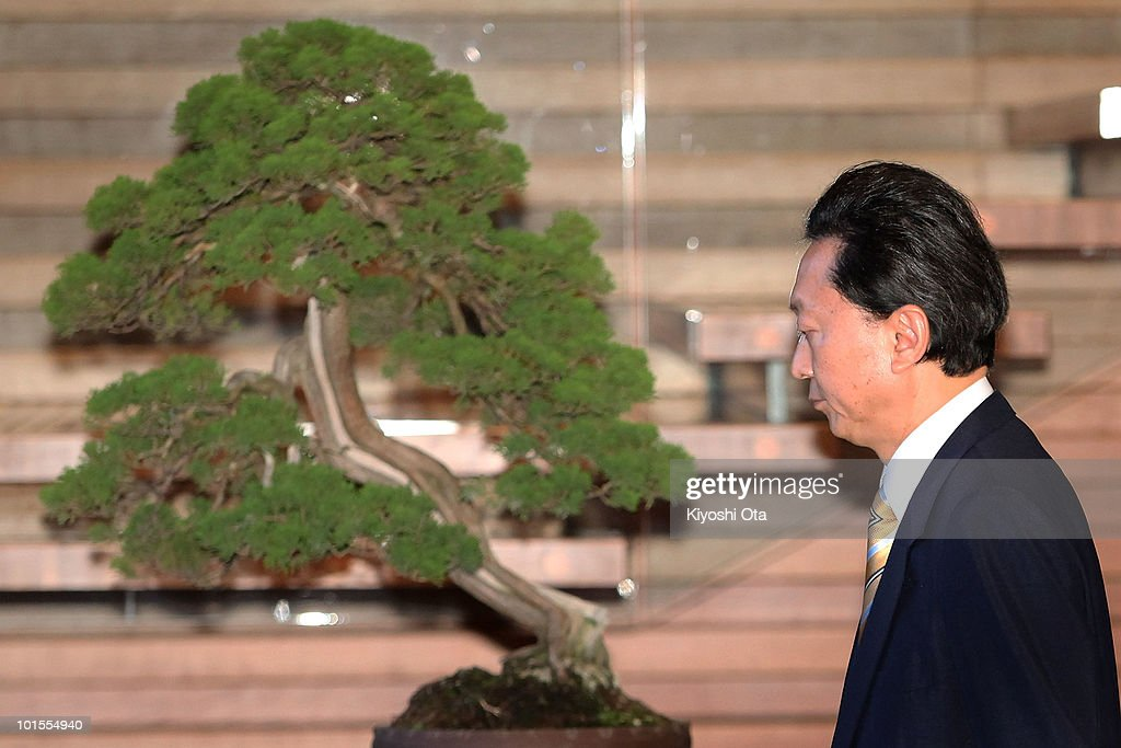 Japanese Prime Minister Yukio Hatoyama leaves his official residence after speaking to the media on June 2, 2010 in Tokyo, Japan. Hatoyama announced he is to step down as Japan's Prime Minister, just nine months after his election win.
