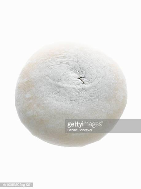 Japanese rice cake on white background