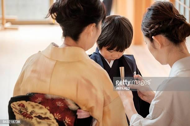 日本 七五三 セレモニー