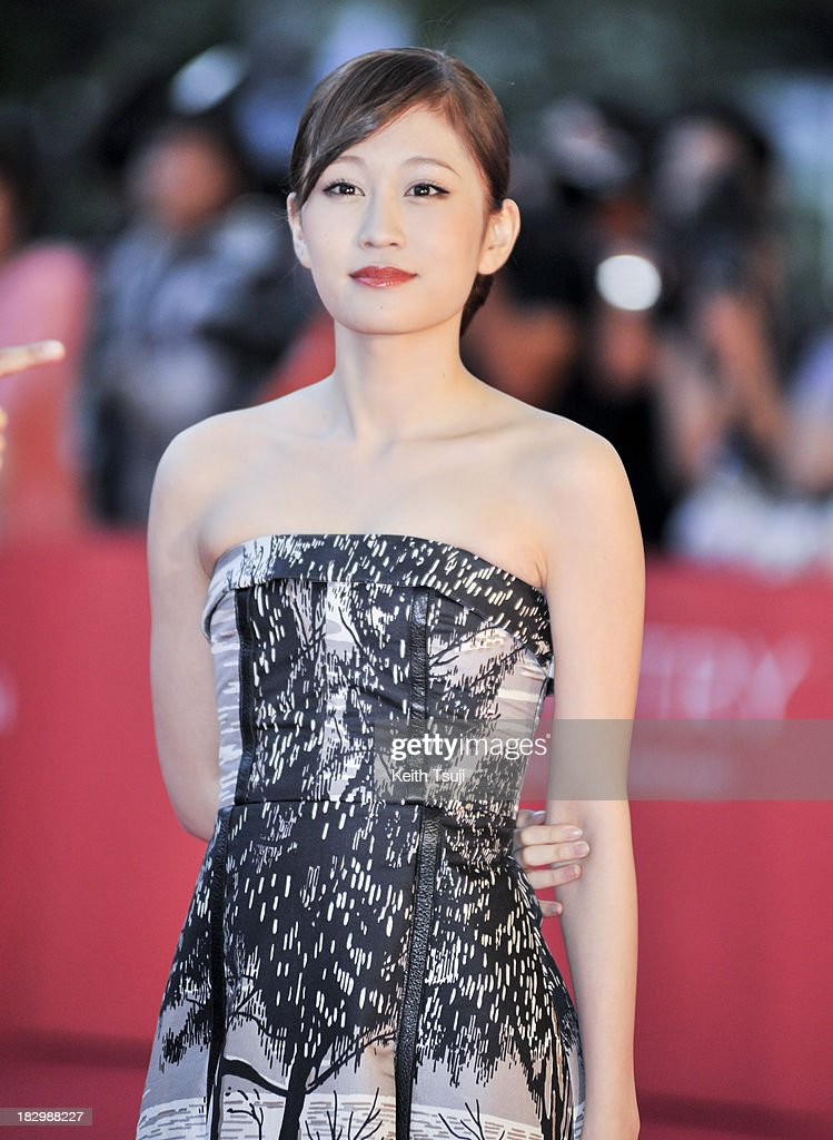 Japanese singer and actress <a gi-track='captionPersonalityLinkClicked' href=/galleries/search?phrase=Atsuko+Maeda&family=editorial&specificpeople=6867932 ng-click='$event.stopPropagation()'>Atsuko Maeda</a> attends the opening ceremony during the 18th Busan International Film Festival on October 3, 2013 in Busan, South Korea.