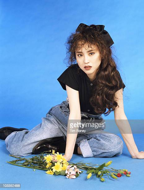 Japanese singer and songwriter Seiko Matsuda circa 1985