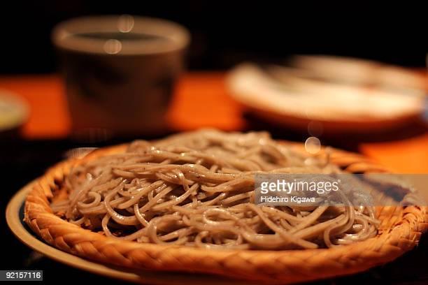 Japanese soba noodles