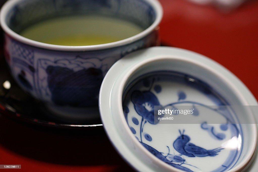 Japanese soup : Stock Photo
