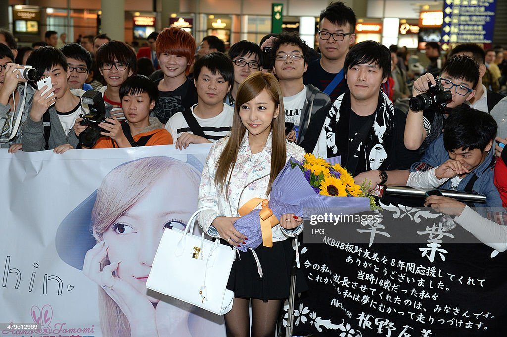 Japanese star <a gi-track='captionPersonalityLinkClicked' href=/galleries/search?phrase=Tomomi+Itano&family=editorial&specificpeople=7899742 ng-click='$event.stopPropagation()'>Tomomi Itano</a> arrives at the airport on Monday March 17,2014 in Hong Kong,China.