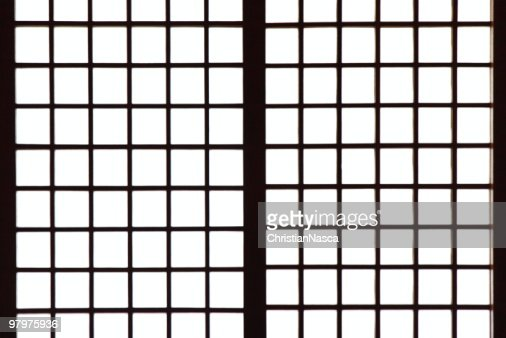 Japanese style paper screen partition (Shoji)