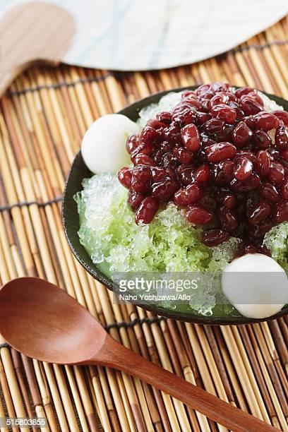 Japanese style shaved ice