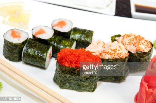 RISTORANTE sushi giapponese : Foto stock