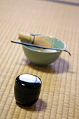 Japanese tea accoutrements