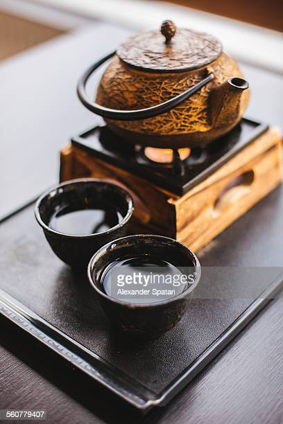 Japanese tea ceremony for two people