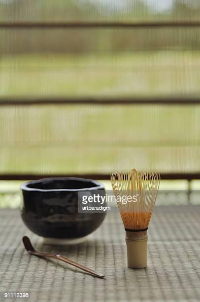 Japanese tea ceremony image