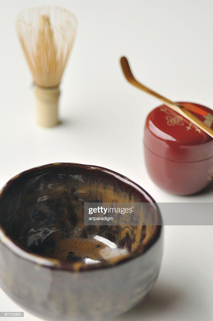Japanese tea ceremony image : Stock Photo