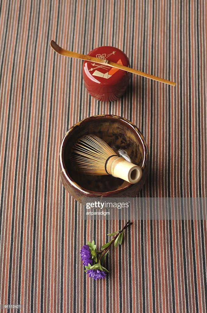 Japanese tea ceremony image : Stock Photo