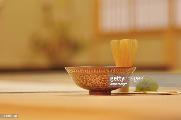 Japanese tea ceremony image,close up