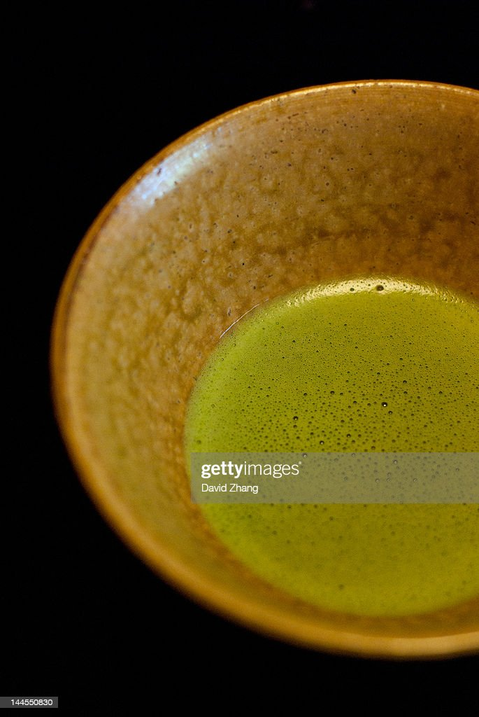 Japanese tea ceremony : Stock Photo