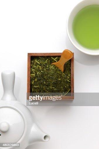 japanese tea : Stockfoto