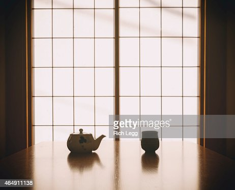 Japanese Tea Silhouette