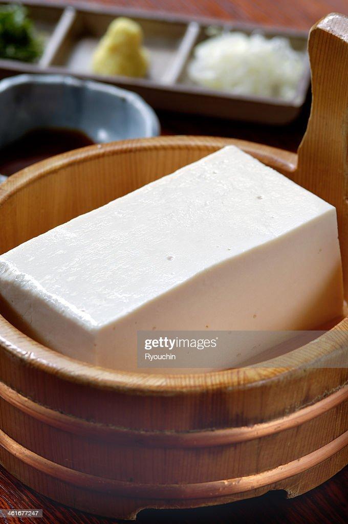 Japanese tofu : Stock Photo