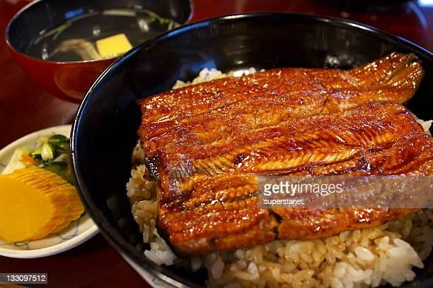 Japanese traditional eel dish