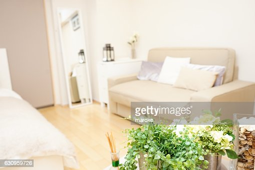 Japanese traditional housing room for backpacker's staying : Stock Photo