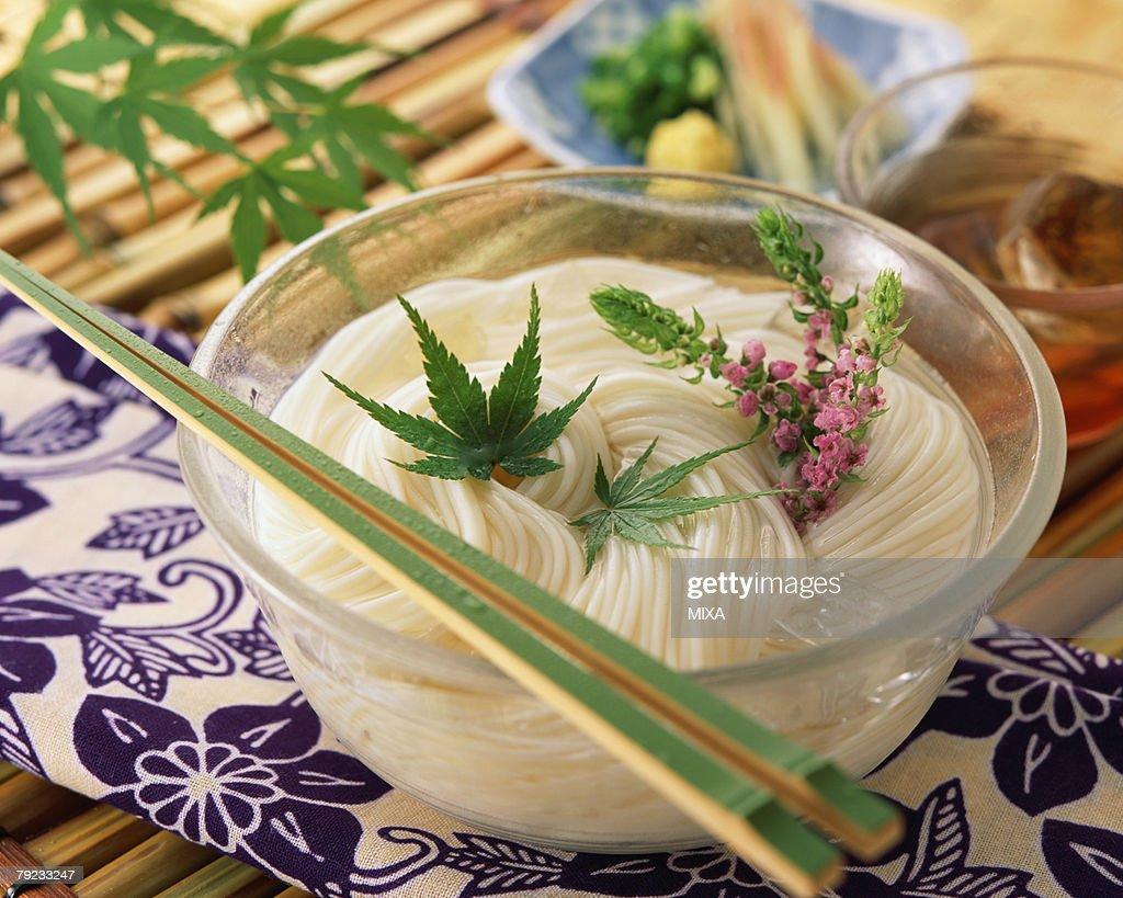 Japanese vermicelli : Stock Photo