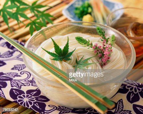Japanese vermicelli : Stock Photo