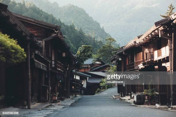 Maisons de Village japonais avec Ryokan