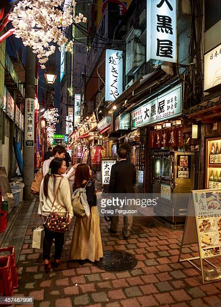 Japanese walk down Yakitori Alley a destination famed for its small barbecue bars