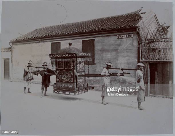 Japanese Wedding Sedan Chair