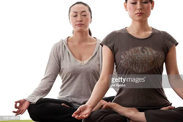 Japanese Women in Lotus Position