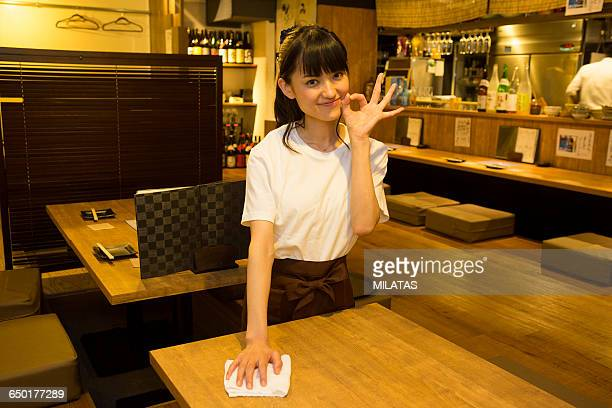 Japanese young people who enjoy a drinking party